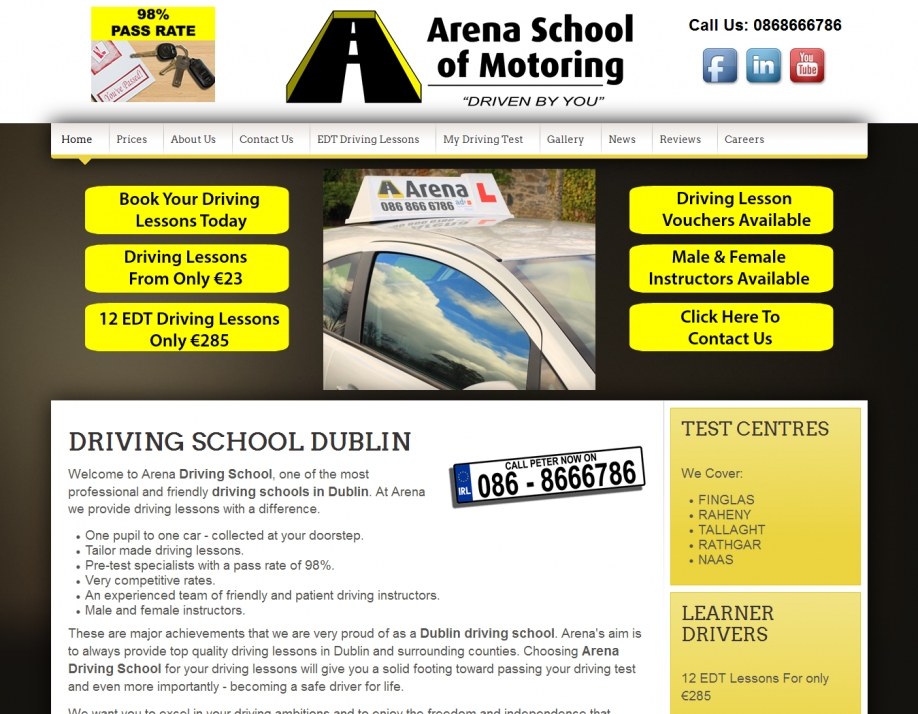 Arena Driving School